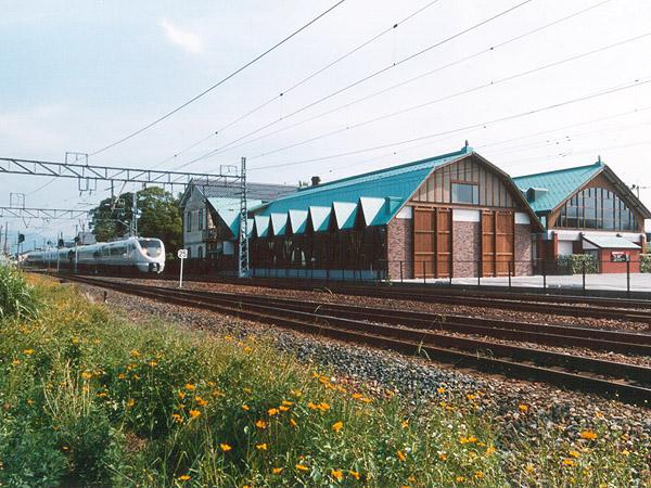 北陸線電化記念館新築工事の写真