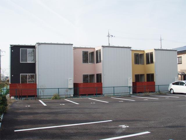 岡町ユニキューブ新築工事の写真